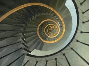 The causes of addiction is like spiral downards