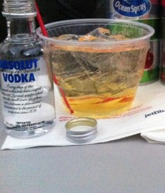Anti-alcohol group tries to ban booze on planes