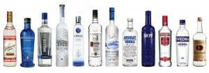 Tampered Vodka Bottles