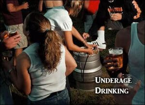 Parents can be fined 2,000 for underage drinking