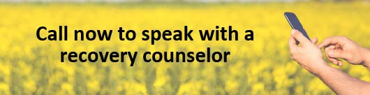 call 888-762-3730 to speak to a recovery counselor